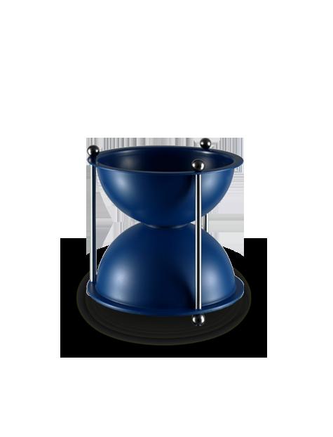 crachoir a vin oenosablier ABS bleu 1L