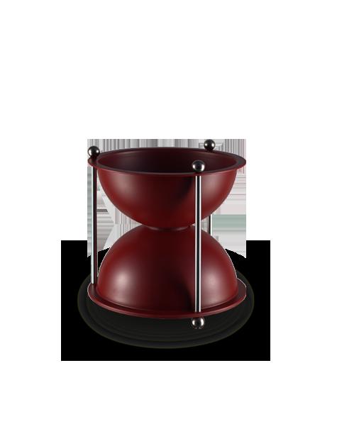 crachoir a vin oenosablier ABS 1L rouge bordeaux